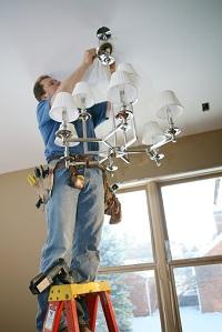 New Castle County lighting installation