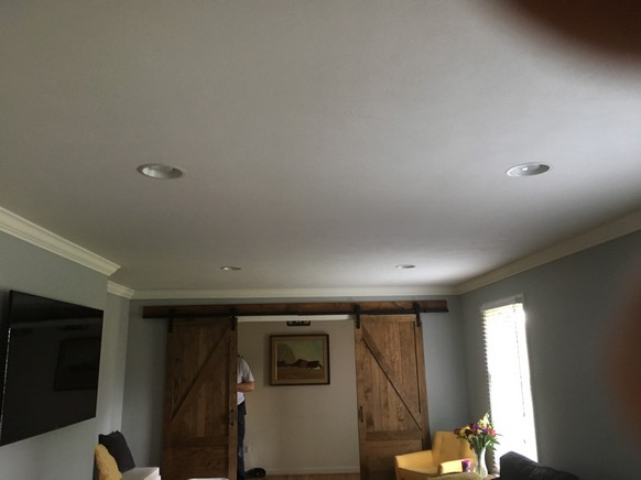 Family Room Recessed Lighting Project In Hockessin De